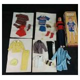 "Original ""Ricky"" doll from 1964 in original box"