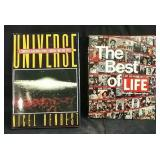2 Hardcover coffee table books