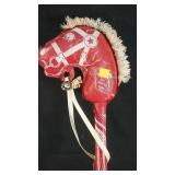 Original The Romper Room stick horse