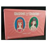 Skipper & Scooter doll case with dolls and