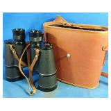 Omega Binoculars in carry case