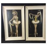 2 ballet paintings