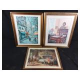 3 Framed prints