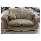 "Loveseat - with cat scratches - sold as is - 60""w"
