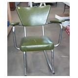 Vintage metal rocking chair