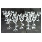 Schott Zwiesel Crystal, 4 white wine glasses, 9