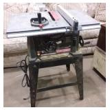 working Craftsman table saw