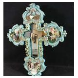 New in box light up wall Cross mirror