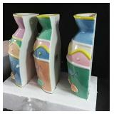 3 Wall Fish Vases new in box