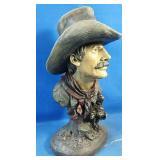 "New Cowboy statue 13""h"