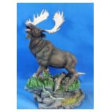 "New resin Moose statue 10""h"