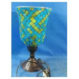 "Working small table lamp 11""h"