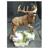 New caribou statue