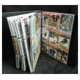 Binder of hockey collector cards