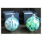 Battery operated art Glass balls