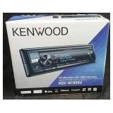 Kenwood CD receiver with USB interface