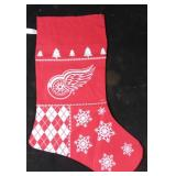 New NHL Detroit Red Wings Christmas sock