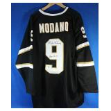"Mike Moreno signed Stars Jersey Inscribed ""HOF"