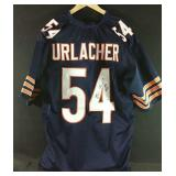 "Brian Urlacher signed Bears Jersey Inscribed ""HOF"