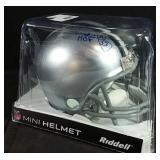 Tony Dorsett signed Cowboys Mini Helmet inscribed