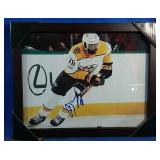 Framed Print of PK Subban with facsimile