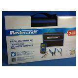 Brand New Mastercraft Digital Multimeter Kit