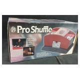 New in Box Pro Shuffle Wooden card shuffler
