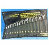 Brand New 15pc Combination Wrench Set - Drop
