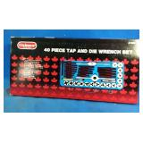 New in package 40pc Tap and Die Wrench Set