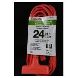 New 24ft 3 Outlet Power Cord