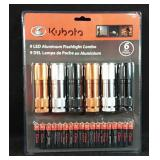 New in package Kubota 9 LED Aluminum Flashlight