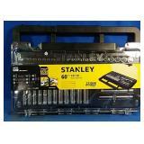 "Brand New Stanley 60pc 1/4""DR Metric Socket Set"