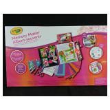 New Crayola memory maker photo album and