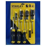New pack of 8 Stanley screwdrivers
