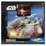 Brand New Star Wars starships Hot Wheels toy set