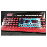 New 40 piece tap and die wrench set