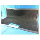 New 24x32 inch natural rubber shoe scraper mat,