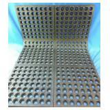 New 3x2 ft rubber mat