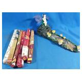 New Fairy themed incense holder with 6 boxes of