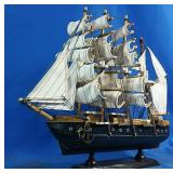 New Wooden model sail boat decor