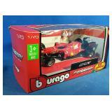 New 1:43 scale Ferrari racing mini diecast model