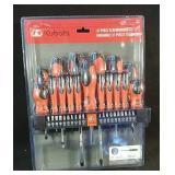 New Kubota 37 piece screwdriver set