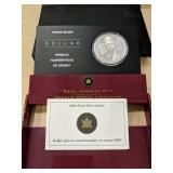 2005 Proof Silver Dollar