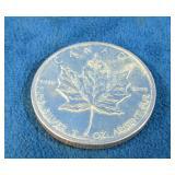 1 oz. .9999 Silver 2010 Maple Leaf Coin