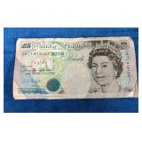 Bank of England £5 note