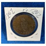 1867 - 1967 Confederation Coin