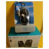 Like New Logitech Stereo Speakers Model z130 and