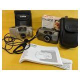 Pentax ESPIO 115S camera & Canon Sure Shot with
