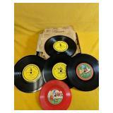 """Vintage records 5""""-6.5"""""""