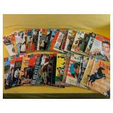 "36 Vintage ""Dell"" magazines"